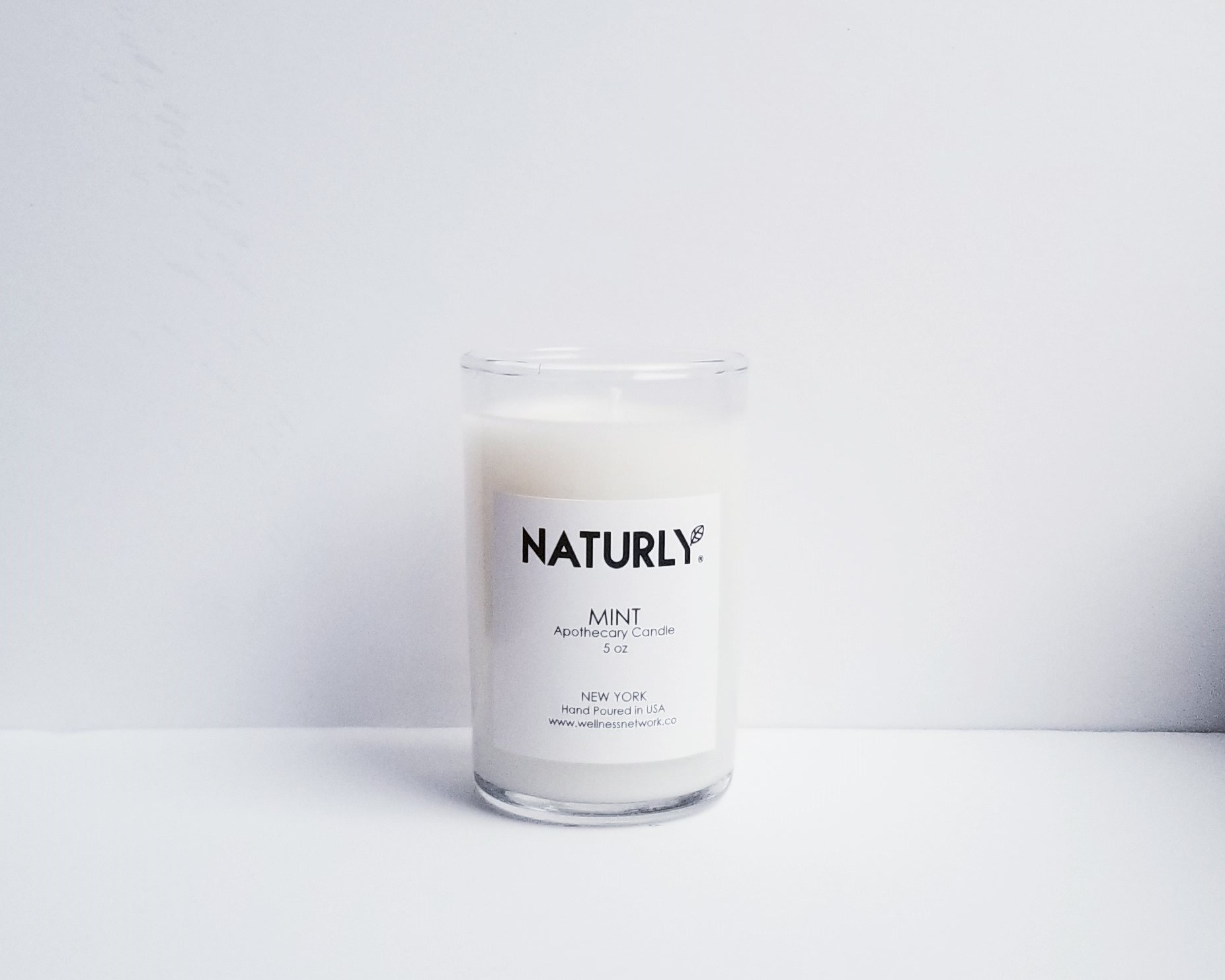 Candle: coconut wax, spearmint oil - $24