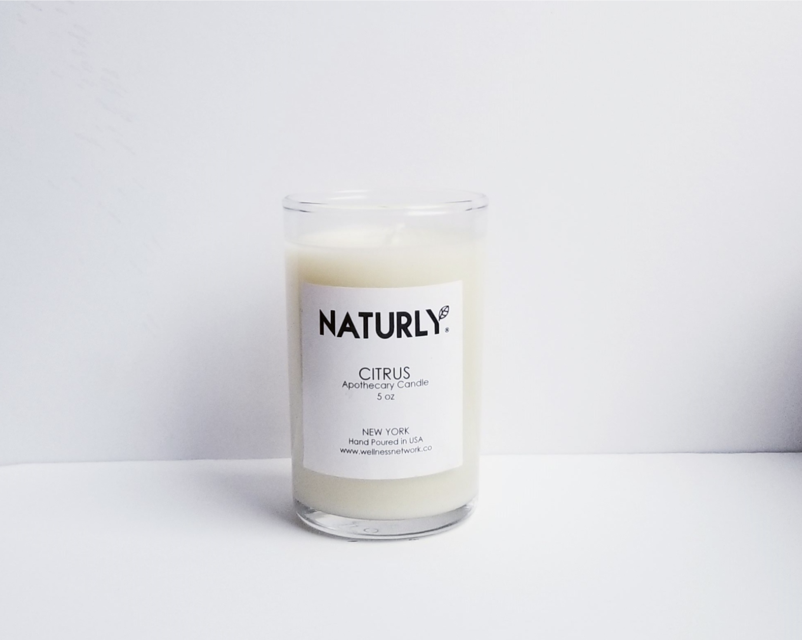 Candle: coconut wax, lemon & grapefruit oils - $24