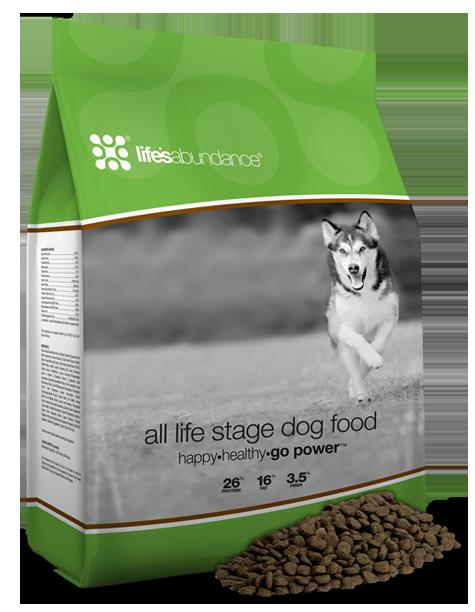 Life's Abundance All Life Stages Dog Food -