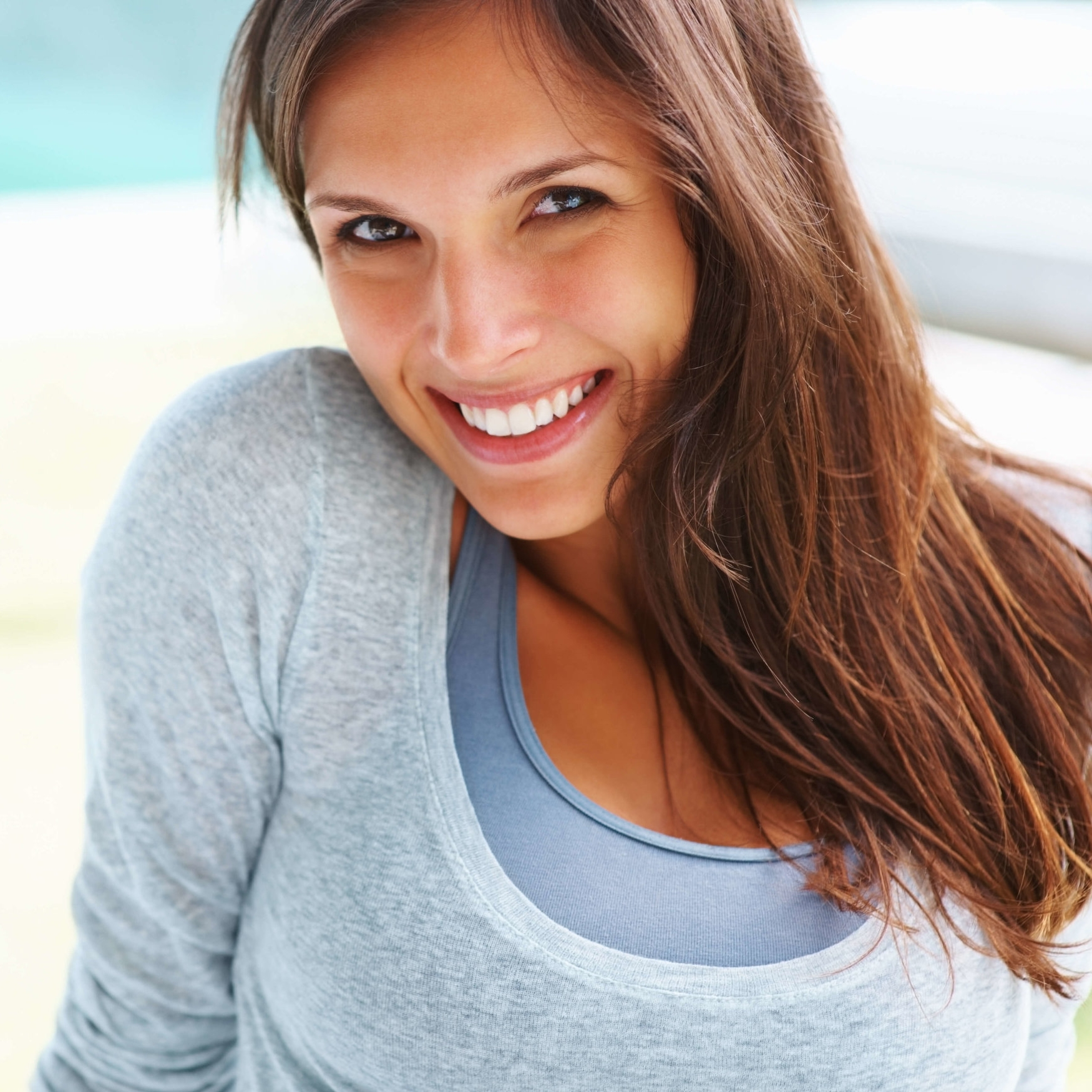 Smile makeover lady smiling after cosmetic dentistry biddulph