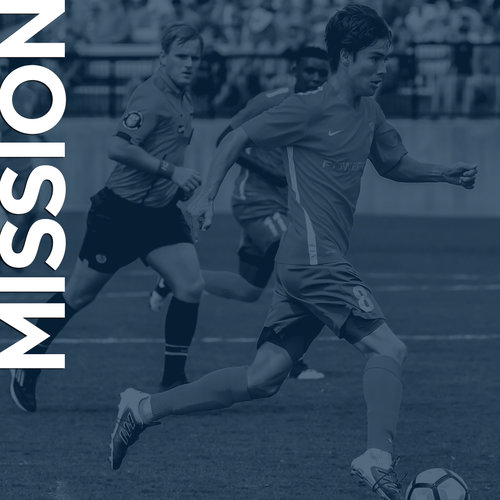 Our mission is to glorify God and see lives transformed by Sharing the message of Jesus Christ through the global environment of soccer.