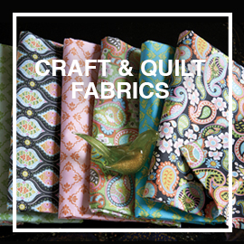 BLEND FABRICS - Cotton quilt & crafts fabrics. On-trend patterns for home decor, children's apparel, cute aprons, decorative pillows, patterned curtains and more.