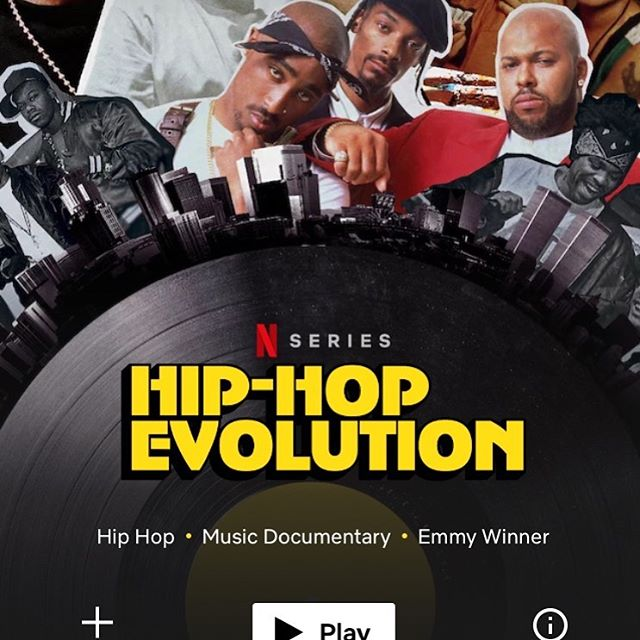 Proud to announce that Season 3 of @hiphopevolution is now available everywhere on @netflix! I'm still so impressed by the work of @iamdarby rodrigo bascuñan @martin.hawkes david Pattinson @djagile @russellpeters @celinelives @bysusanaferreira @delcowie @socacola @illmani and many more over at @Bangerfilms. It's an incredible honour and pleasure to get to be a part of the team that creates this document for the culture. I'm thankful to every single person that sat down with us to share their story. Hope y'all enjoy!🙏🏿