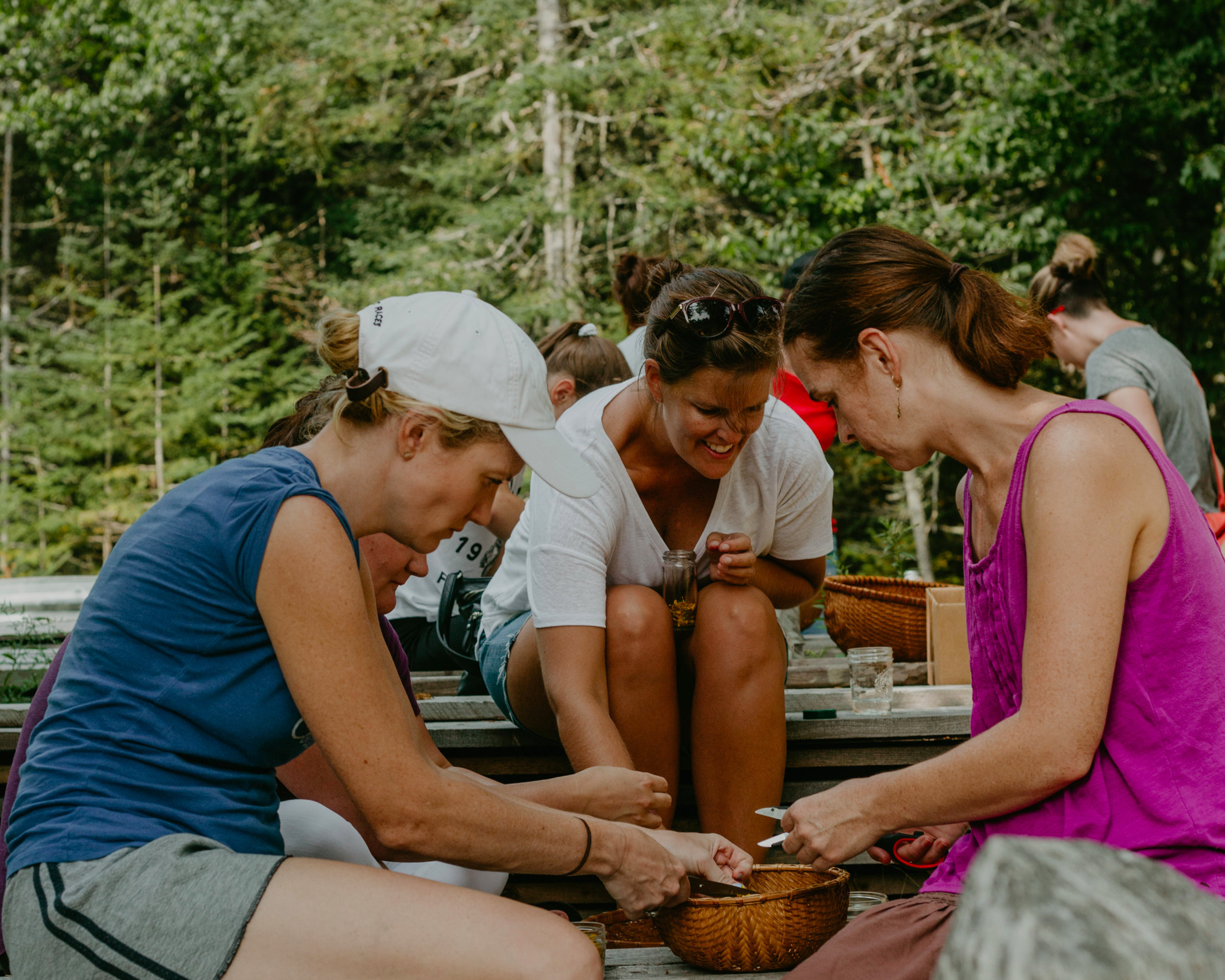 Community Workshops - 2 hour hands-on make and take herbal learning experiences on Deer Isle and the surrounding area.