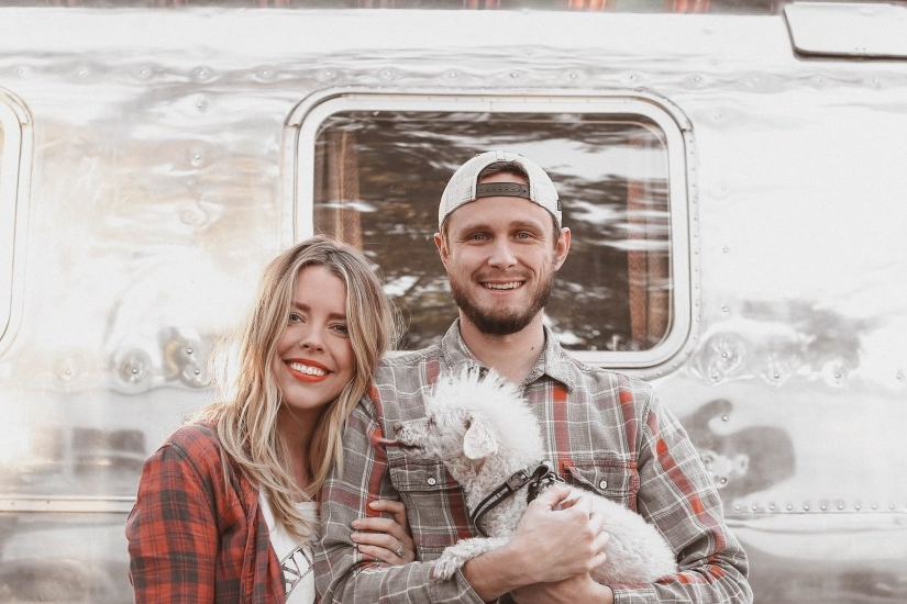 """RV Adventurers - """"We've traveled with our dog, Riley, all over the country in our Airstream. We had been searching for a good solution to monitor the temperature when we needed to leave Riley behind in the RV."""""""