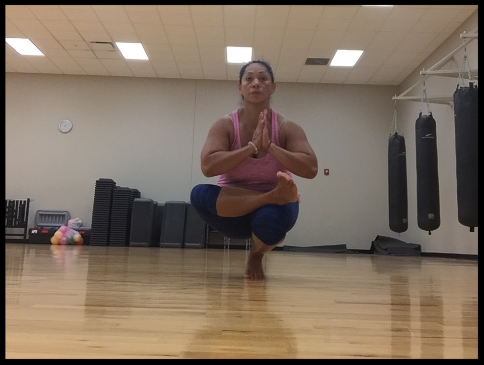 Joy Yoga Toe Stand