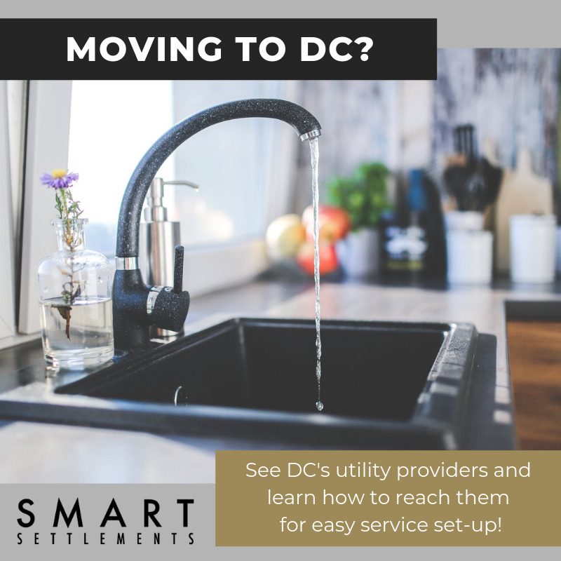 Learn how to set up utilities in your New Washington, DC home! -