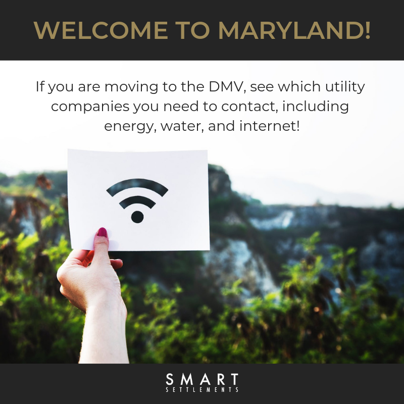 Learn how to set up utilities in your new Maryland home! -