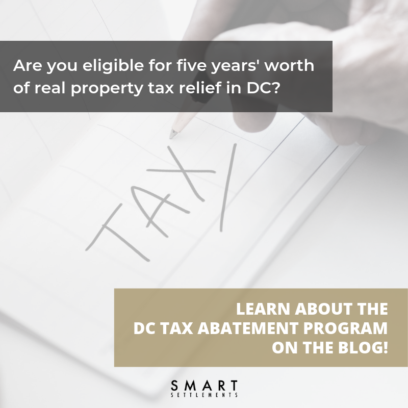 See if you qualify for property tax relief in DC! -