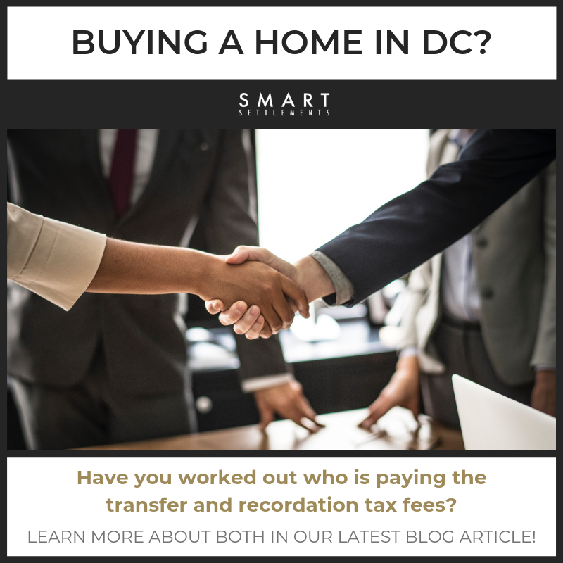 Read about the DC Transfer and Recordation Tax and its exemptions! -