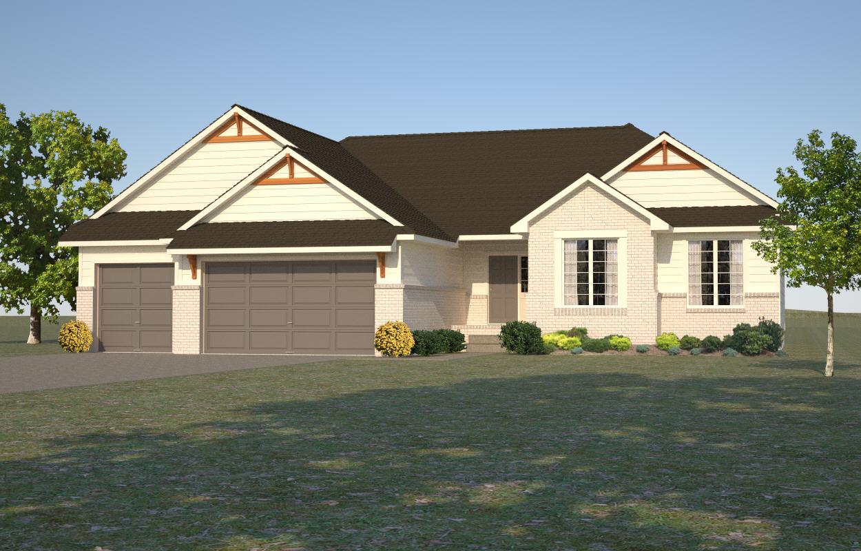 2808 Eagle - 3 bedroom, 2 bathroom1607 square feet$296,944