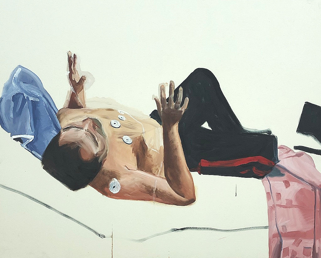"Atlas, Oil on Canvas, 48"" x 60"" (2019)"