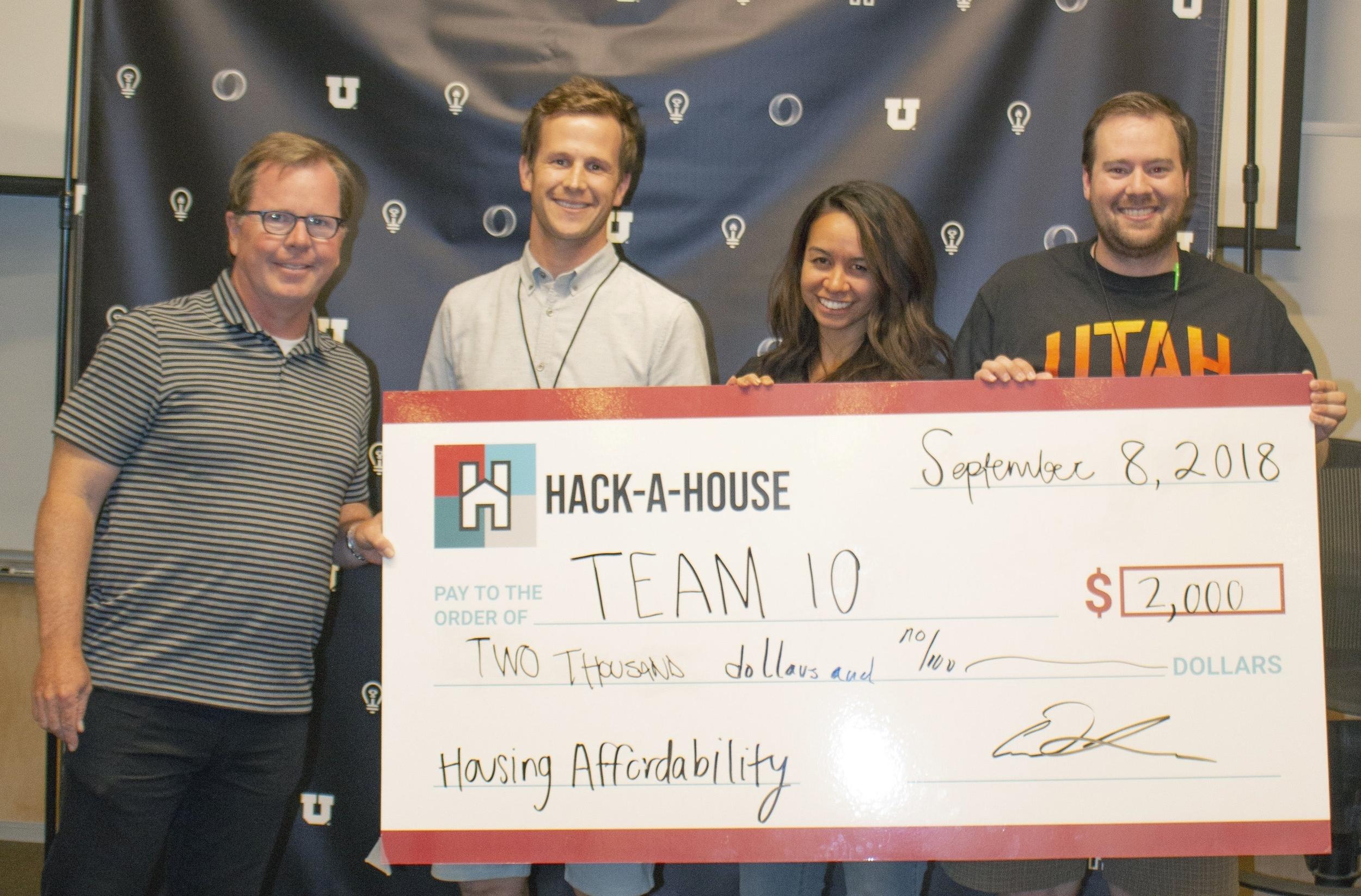 Meet Our 2018 Winners - University of Utah Hack-A-House 2018