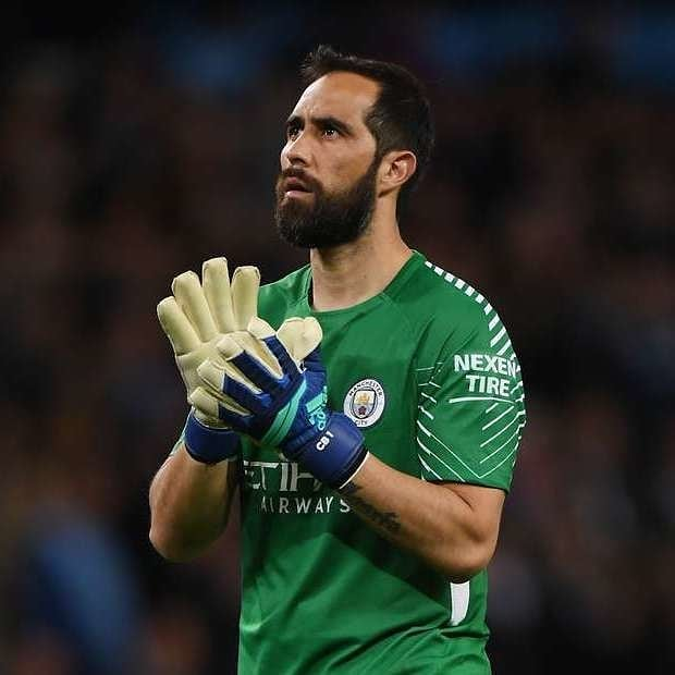 Having missed most of City's treble-winning campaign after rupturing his Achilles last year, Claudio Bravo is set to play against Liverpool in the community shield, can he add to his trophy cabinet later today?  Liverpool V Man City Today from 3pm!