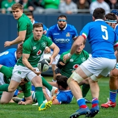 This weekend we have Guinness Summer Series action from Dublin as Ireland host Italy in one of four warm-up matches to be played prior to Rugby World Cup!  Ireland V Italy August 10 from 2pm at New Unity! Get 20% off food and drinks with an NUS card!
