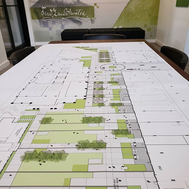 Coming soon Buckhead's newest plaza space!  @asdskydesign  #landscapearchitecture #plaza #urbandesign #notgandalf #rendering #conceptplan #fredericklawolmstead