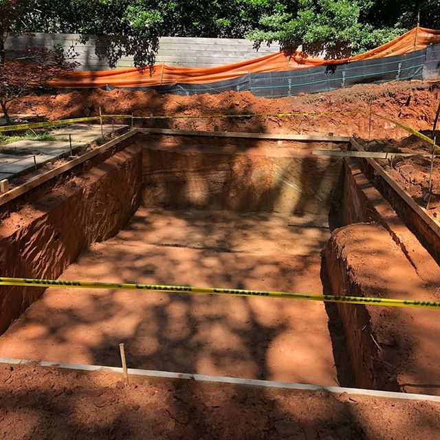 Can you dig it?  We can dig it...pools and water features to be specific!  #landscapearchitecture #designbuild #pools #waterfeature