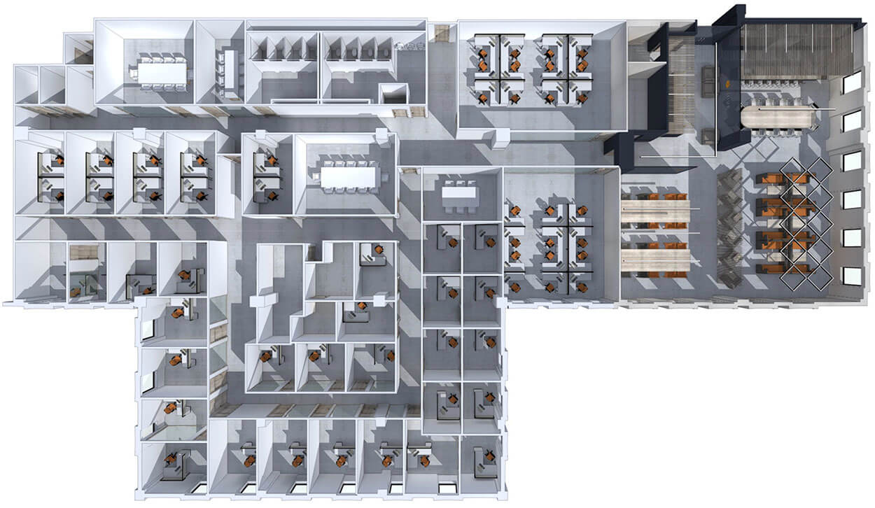 JHIVE OFFICES LAYOUT