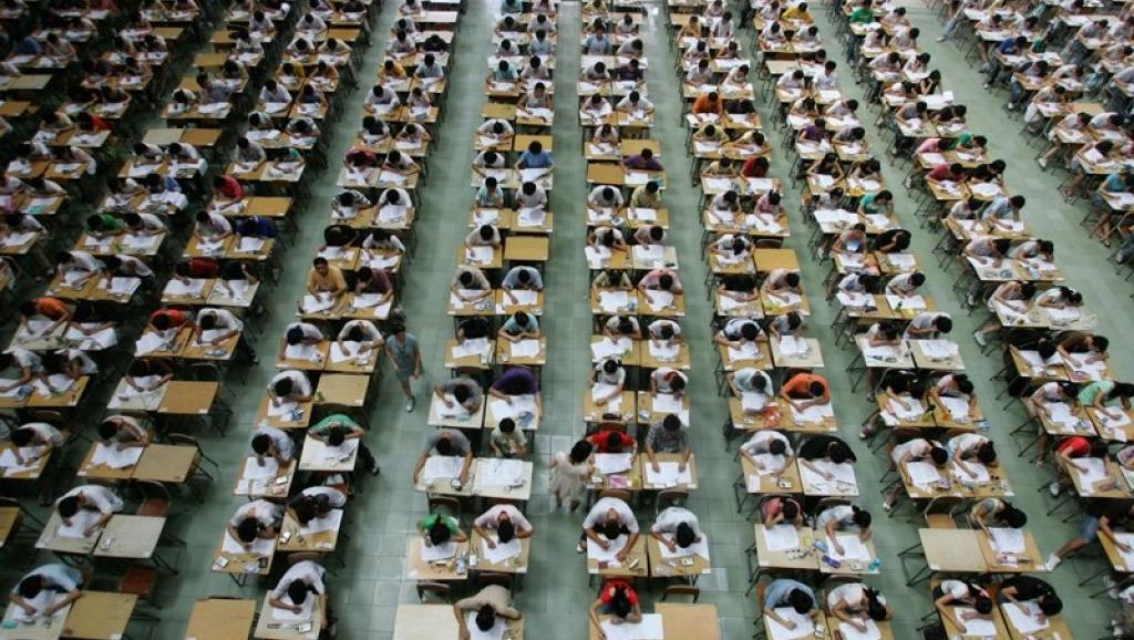 Millions of youths in China take part in the grueling college entrance exams that last for 3 days.