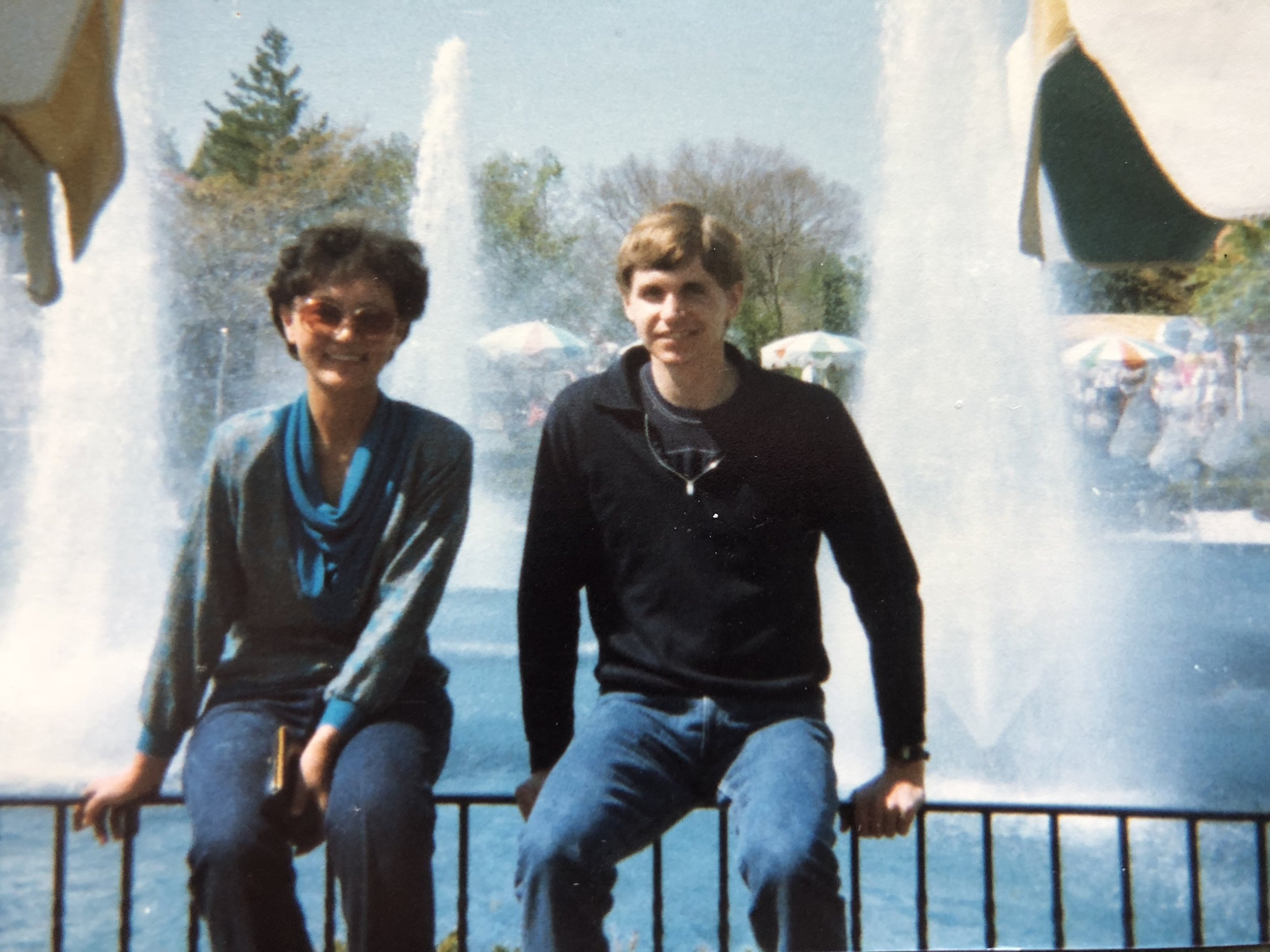 Joe and I at Niagara Falls