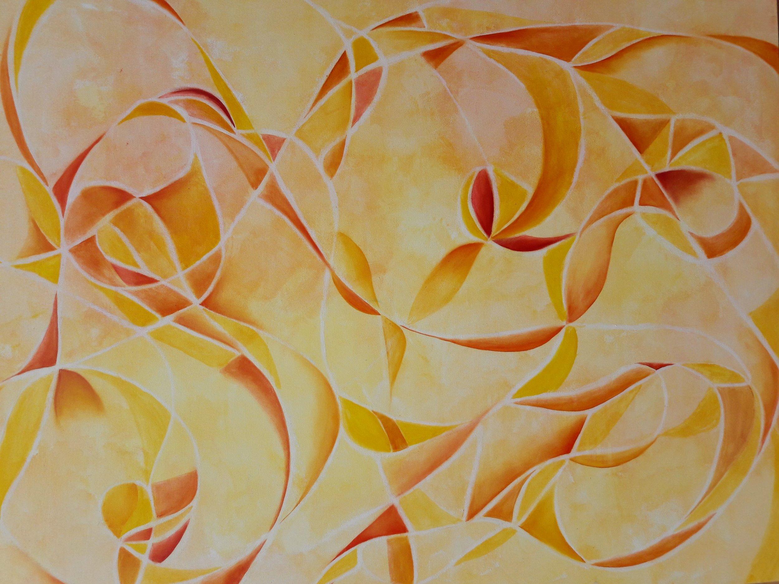 Danza de Verano  Mixta/Tela  100 x 80 cm
