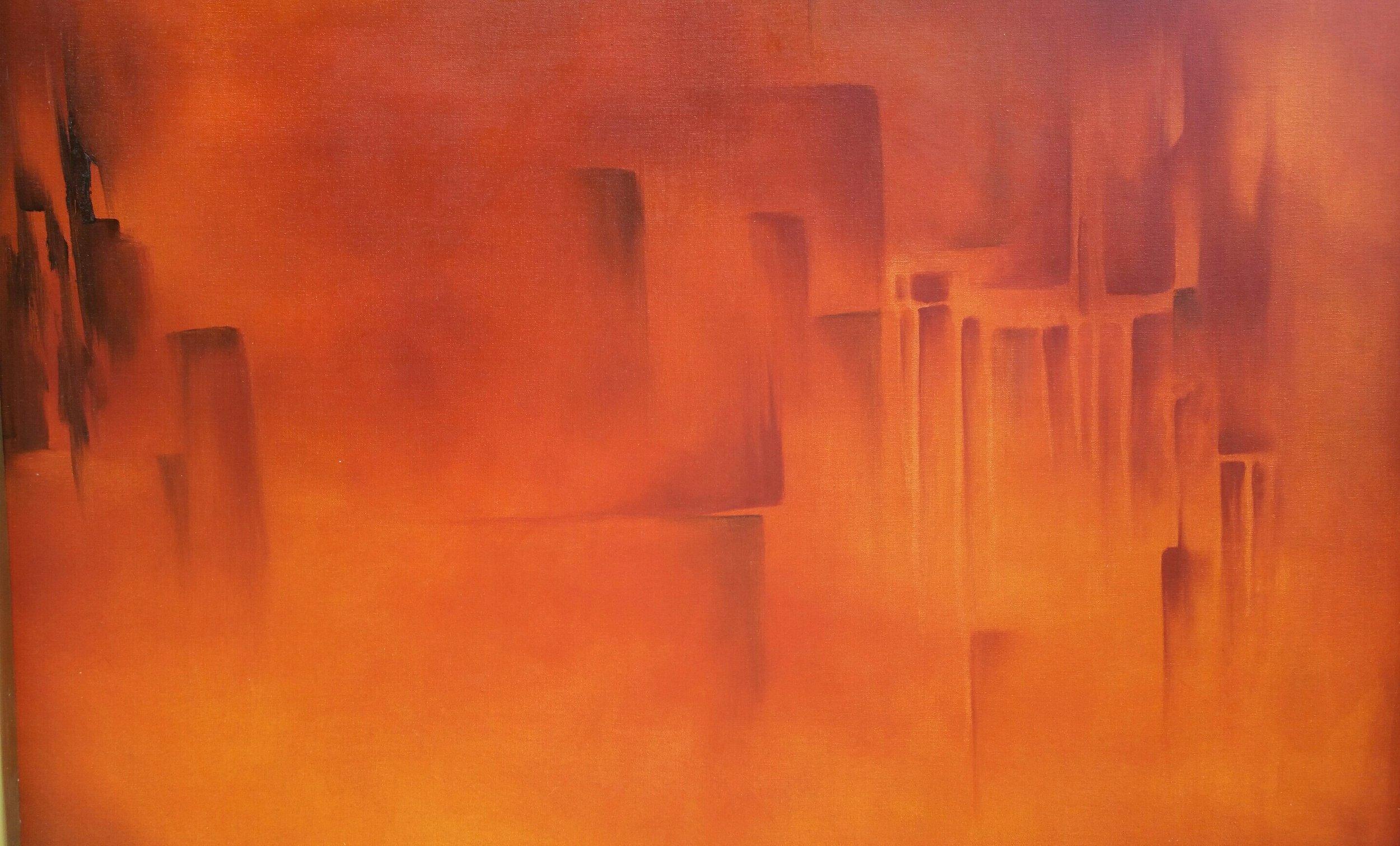 Magma  Óleo/Tela  60 x 80 cm