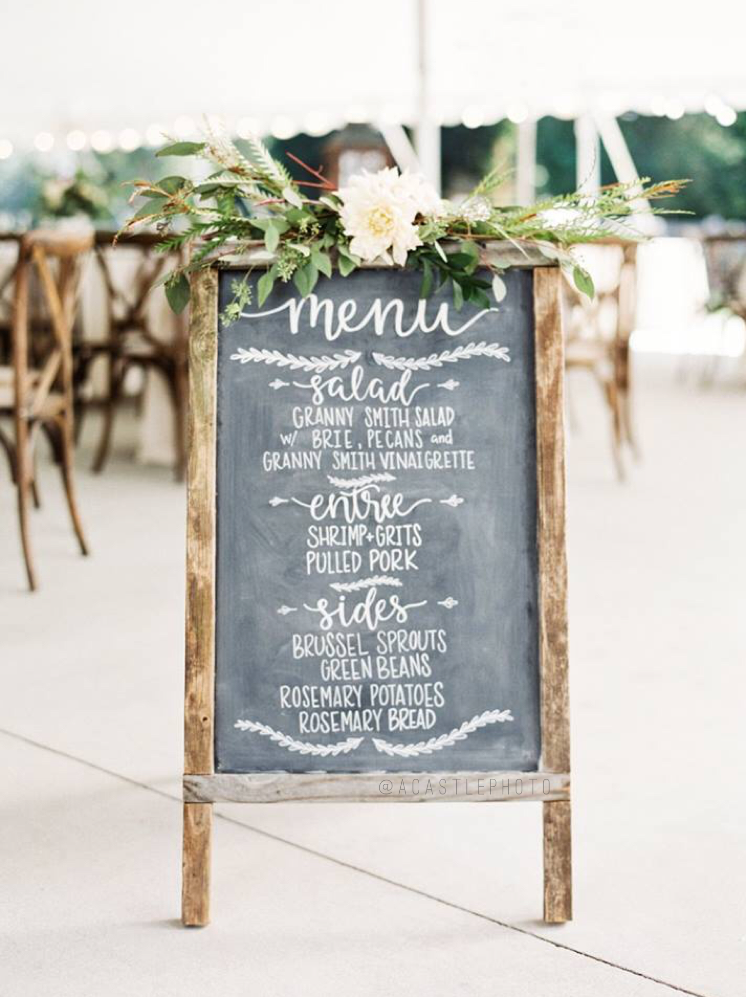 Wedding Signage - Wedding signs are a necessity, but they don't have to be boring. They should add to the beauty of your day.Your guests will appreciate the intentionality behind these Pinterest-worthy, informational details!