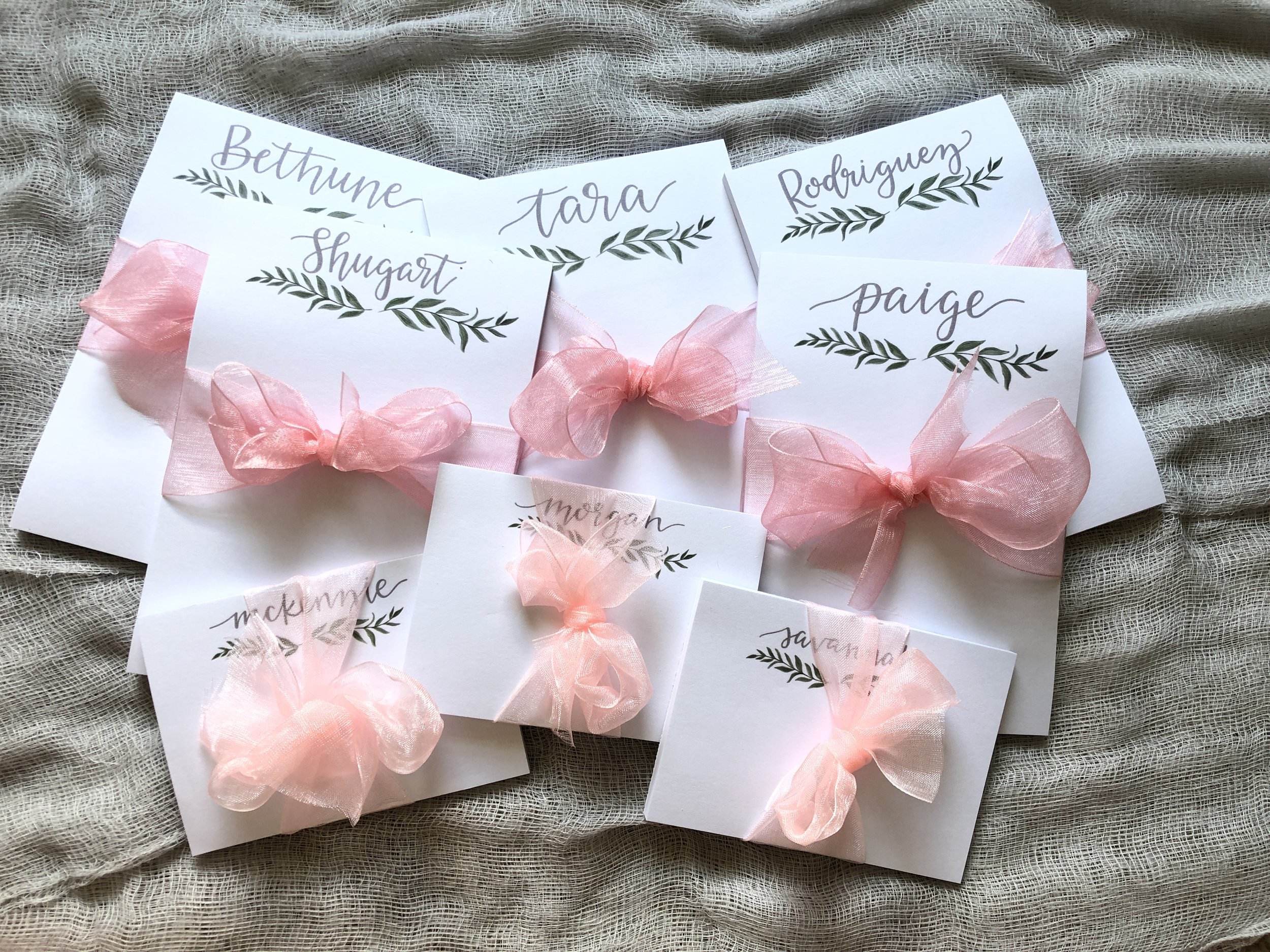 personalized notepads for bridesmaids