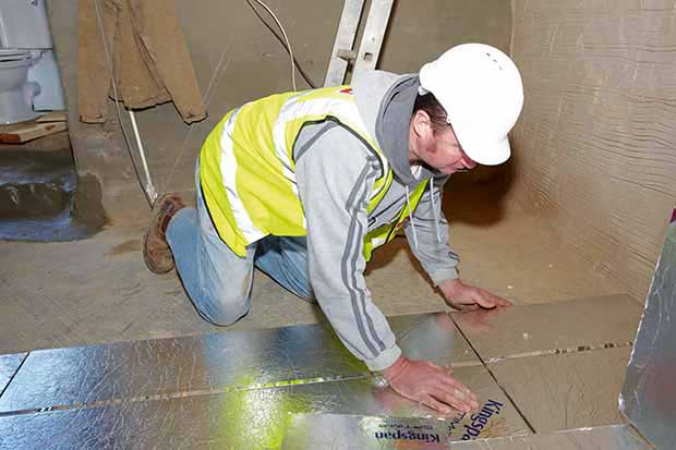 Kingspan    VIPs offer an ultra-thin build-up of just 26mm