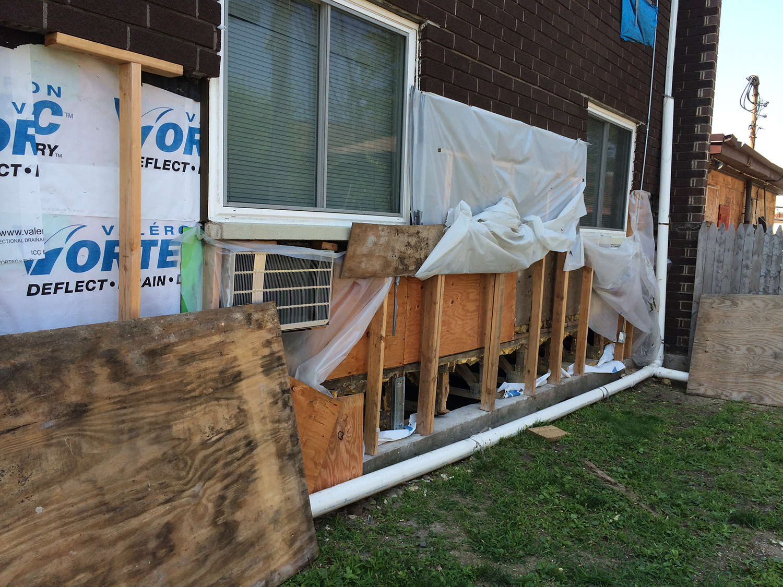 Pine Town Façade Restoration