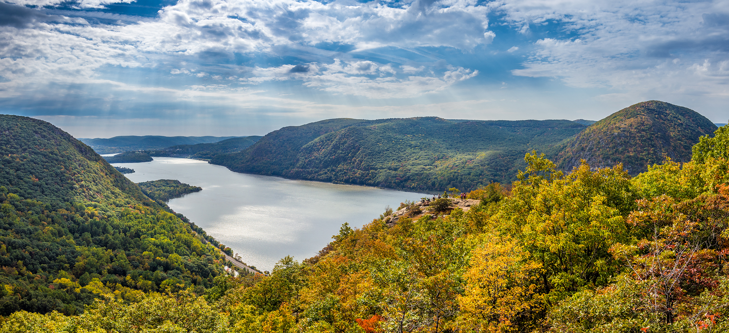 Photo of the Hudson Valley in New York State