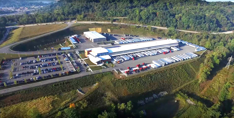Aerial View Pitt-Ohio Harmar