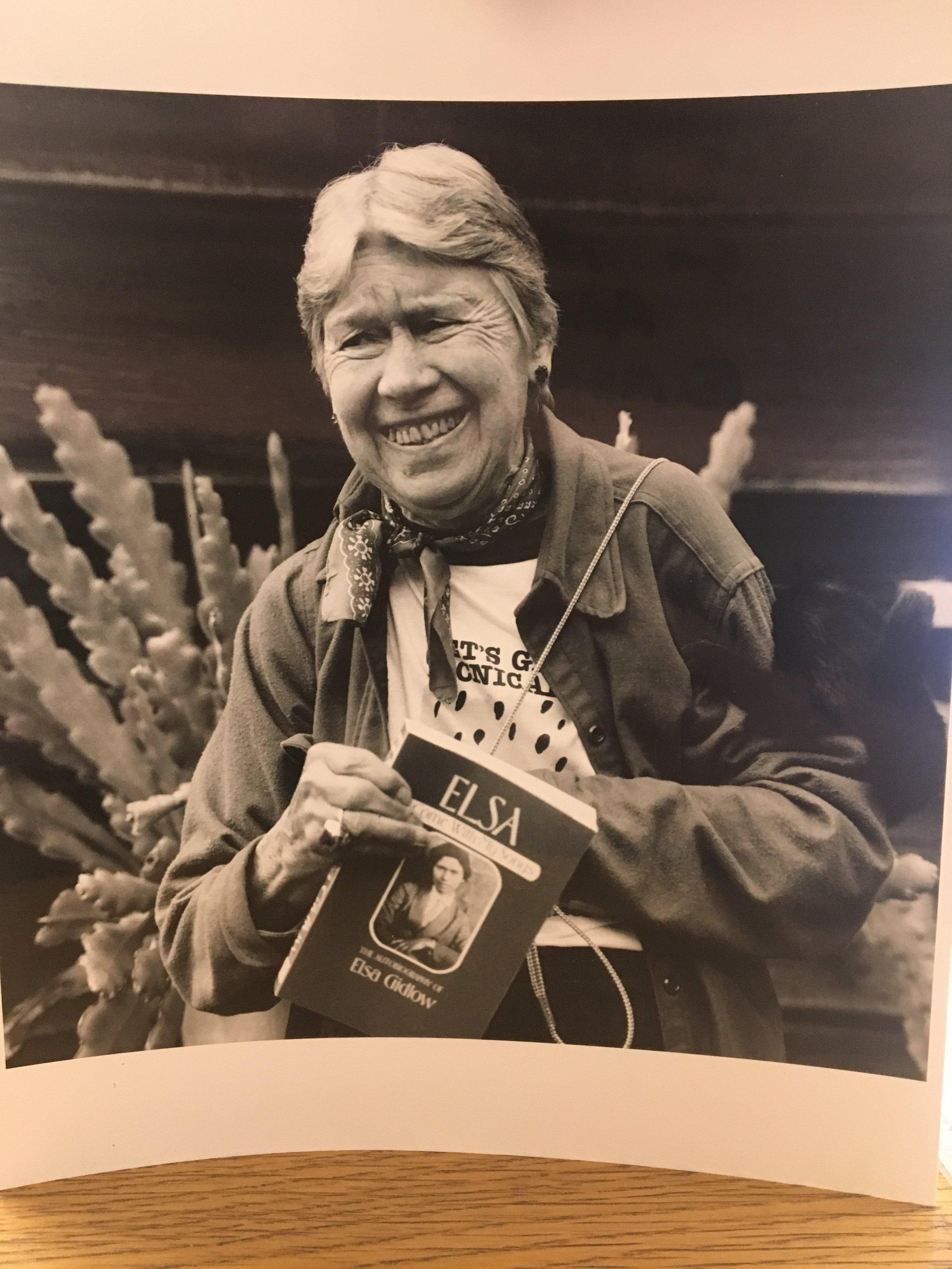 Elsa Gidlow 1986