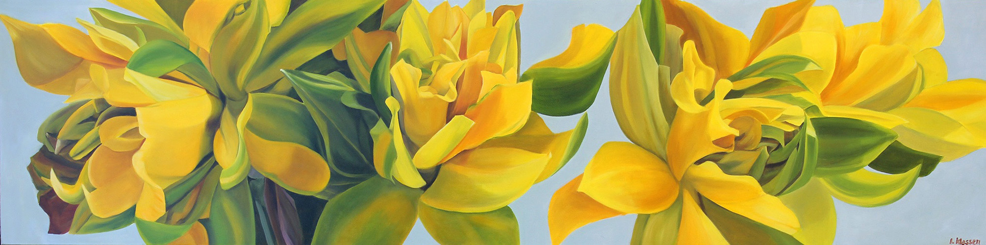 Botanical paintings - WITH A FRESH PERSPECTIVE
