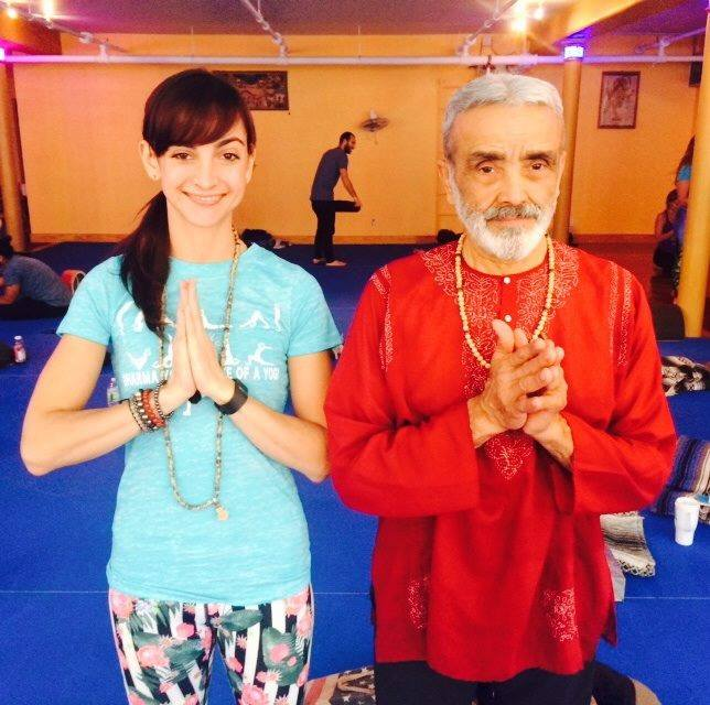 "Sri Dharma Mittra, Dharma Yoga Center, 200hr Life of a Yogi Teacher Training - ""I am not the doer,"" my favorite quote from him Om shanti"