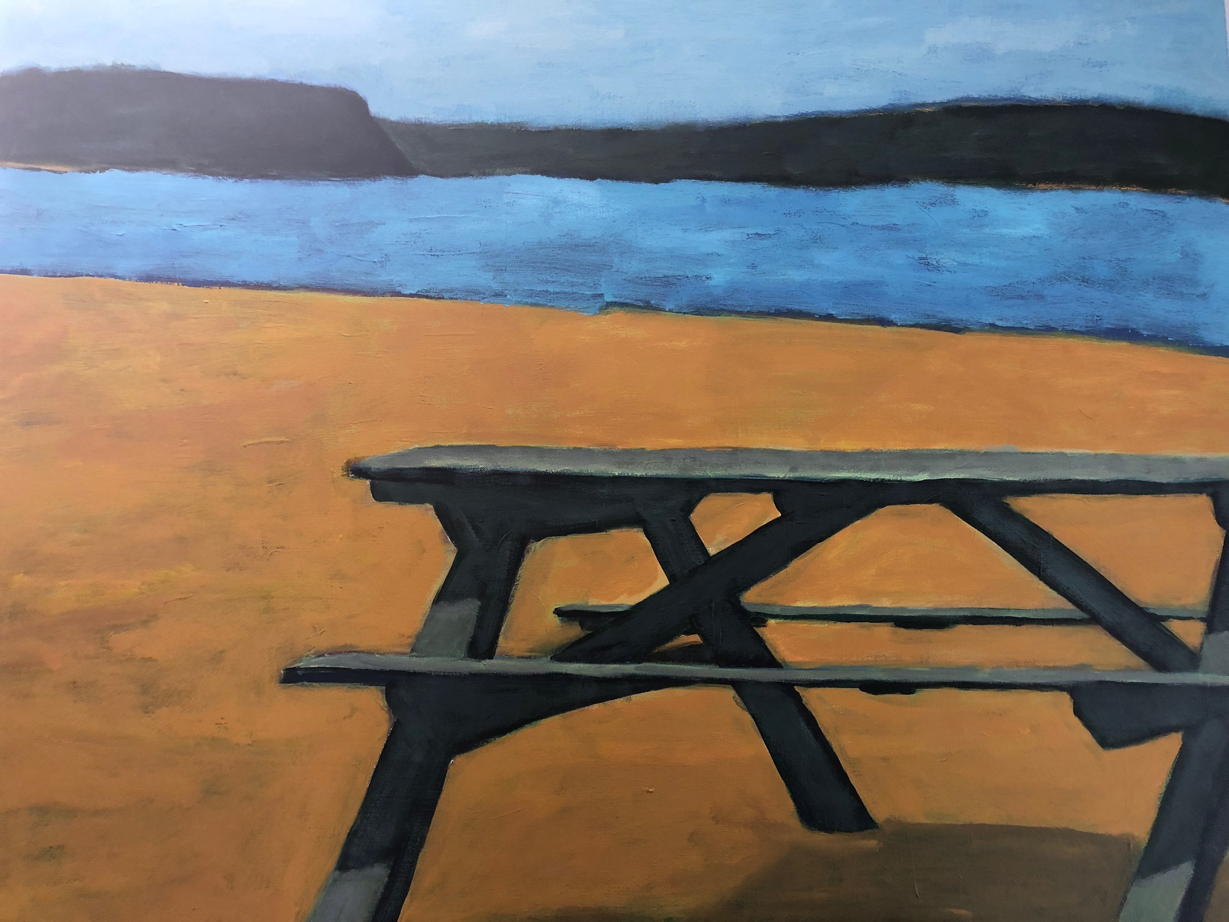 Picnic Bench at Wades