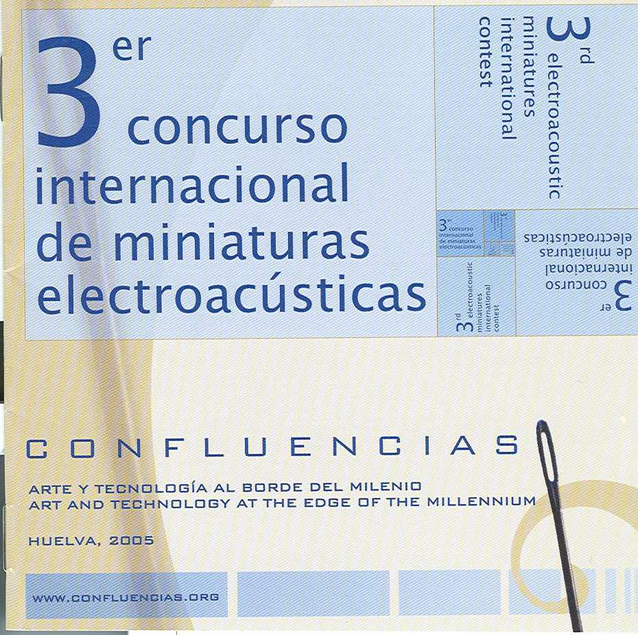 """Confluencias: Art and Technology at the Edge of the Millennium"" Includes   Drift   for fixed media."