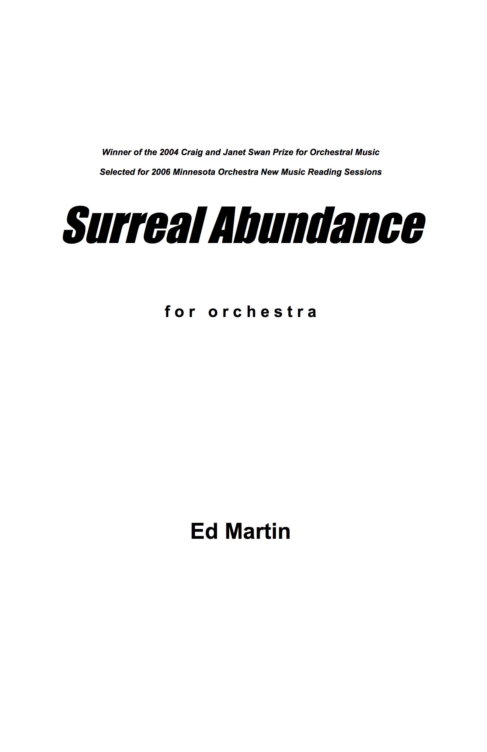 Surreal Abundance_Orch_3 perc_2_10_06.jpg