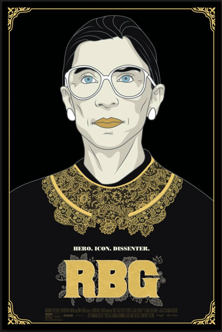 """RBG"" - see it on CNN on September 3, 2018 ."