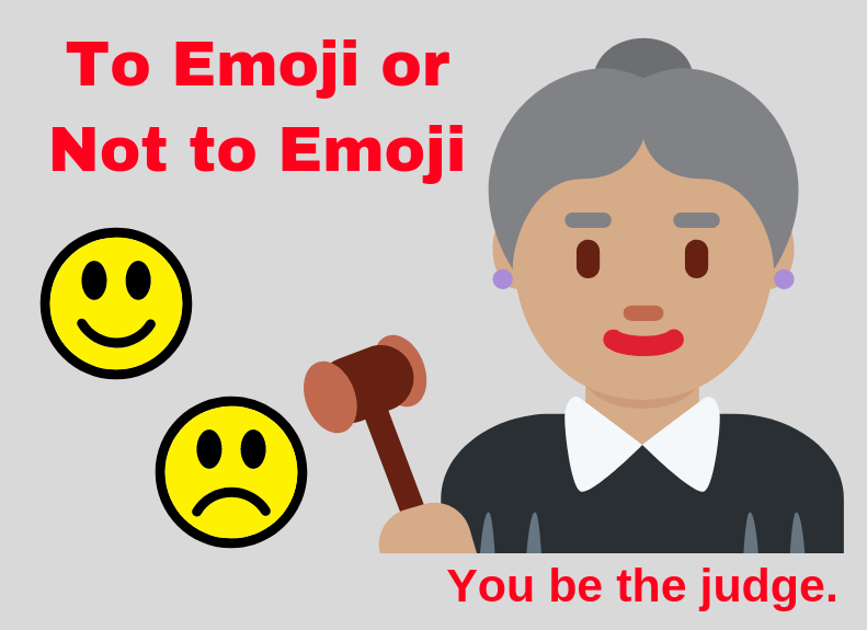 How do you feel about emoticons in work emails? -