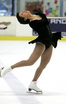 She is currently ranked third in the country by United States Figure Skating.