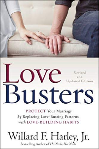 Love busters - A book everyone should read, both individually and as a couple to get on the same page as far as what is acceptable and what is unacceptable in a relationship.
