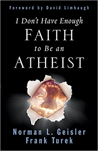 I Don't Have Enough Faith to be an Athiest - God uses science, and science proves God. This book goes through all the creation theories and finally puts them to rest.