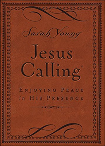 Jesus Calling - This is a fantastic daily devotional. Somehow it seems that every day you read applies to exactly what you're going through.