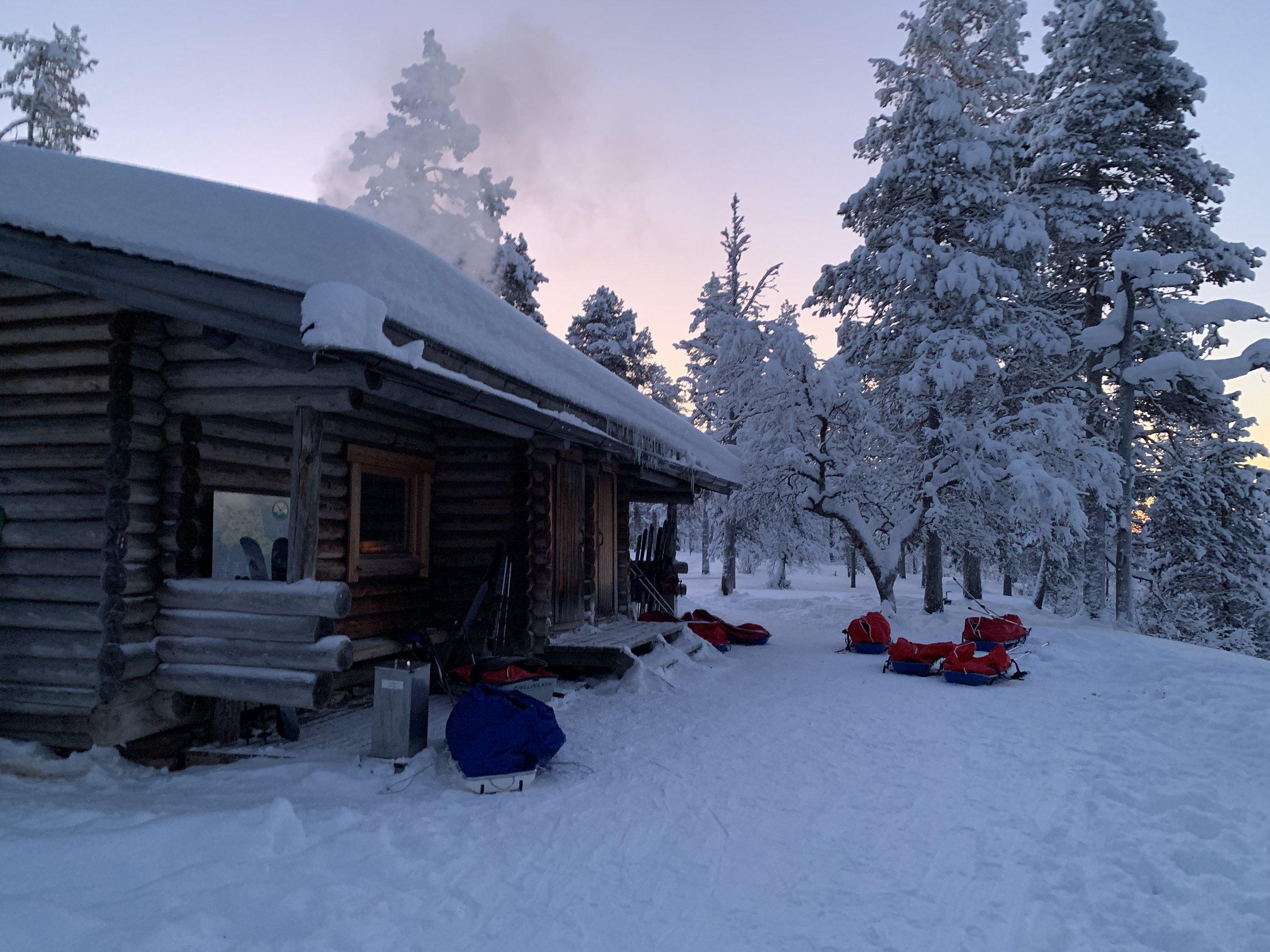 WILDERNESS HUT  Urho Kekkonen National Park