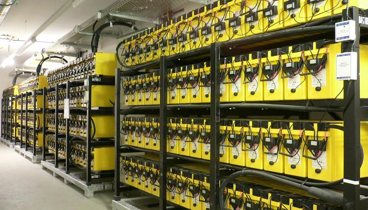 UPS Batteries in a Data center