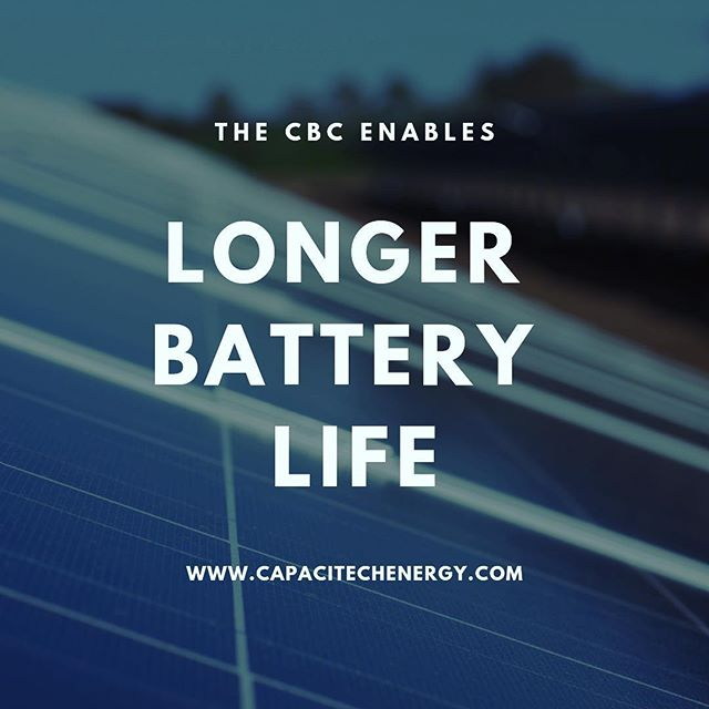 The CBC's high power density can complement batteries in solar power systems to have 15% to 35% more capacity 🔋