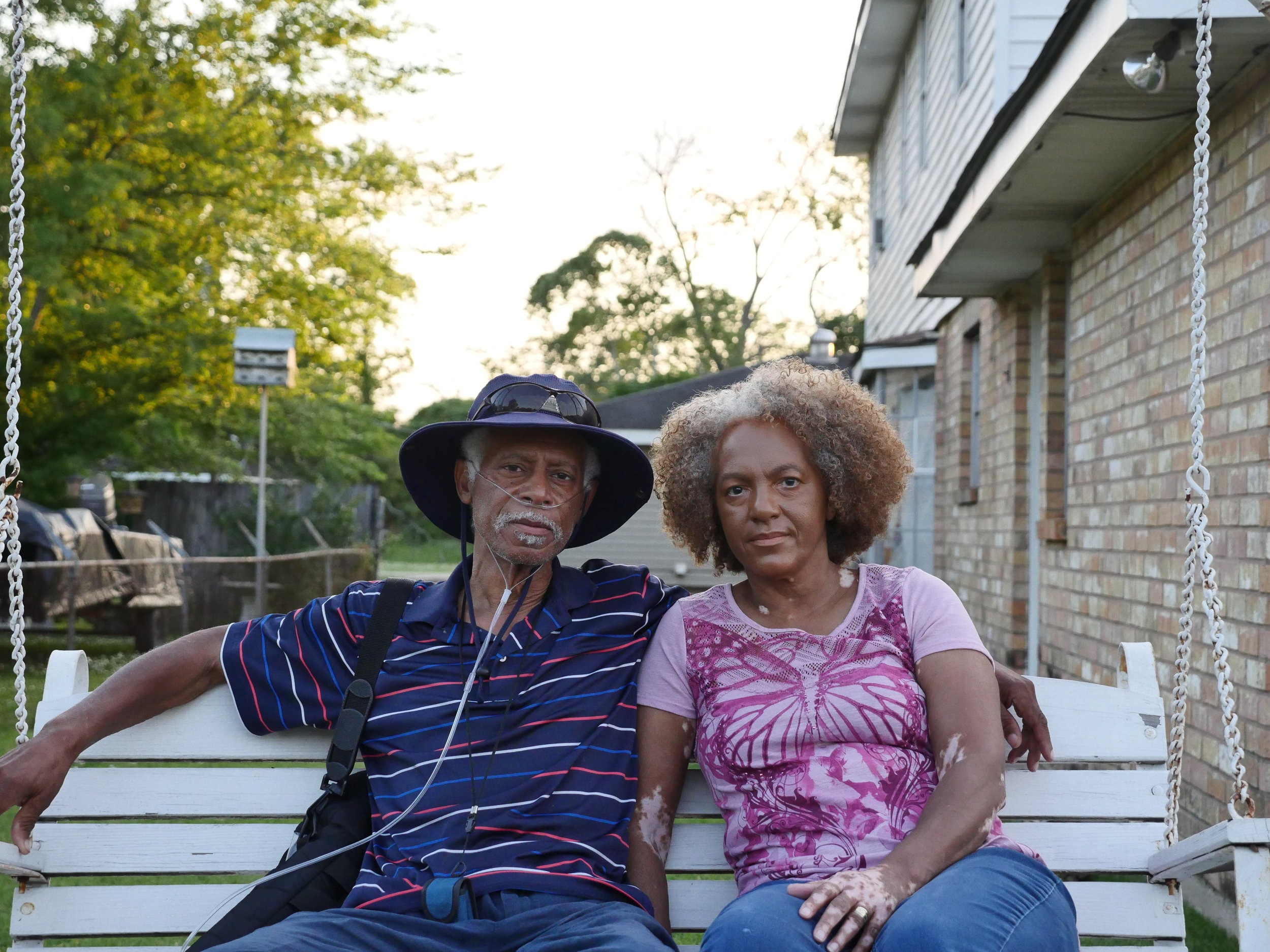Walter and Lydia Gerard. Walter died of kidney cancer in June 2018. Evidence suggests an association between kidney cancer and chloroprene exposure.