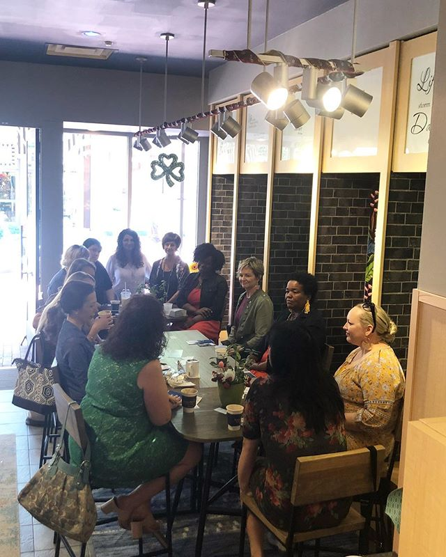 Had a great time this morning with @bossbabe.inc and all the wonderful ladies who came out to talk about the future!