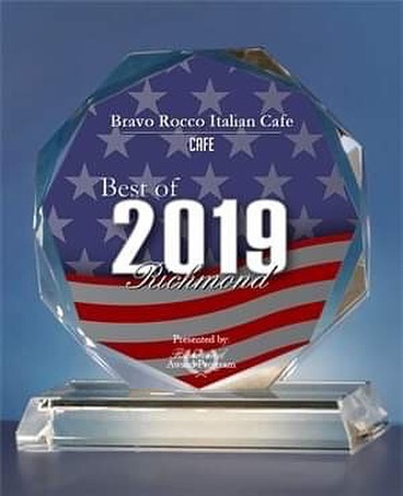 """We are SO proud to announce that we won the """"2019 Best of Richmond"""" award in the Cafe category!! Thank you to all who voted ☕️"""